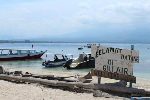 Free stock photo of beach, boat, coast