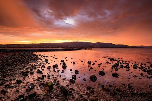 Δωρεάν στοκ φωτογραφιών με dru point, tasmania, Ανατολή ηλίου, αυγή