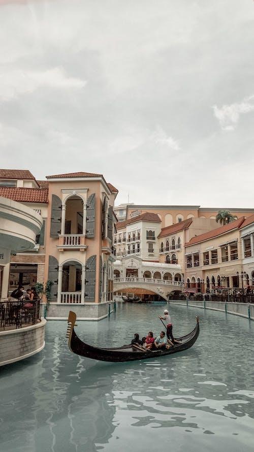 Ảnh lưu trữ miễn phí về các tòa nhà, con kênh, con sông, gondola