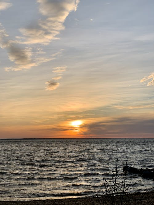 Photos gratuites de coucher de soleil, coucher du soleil, eau