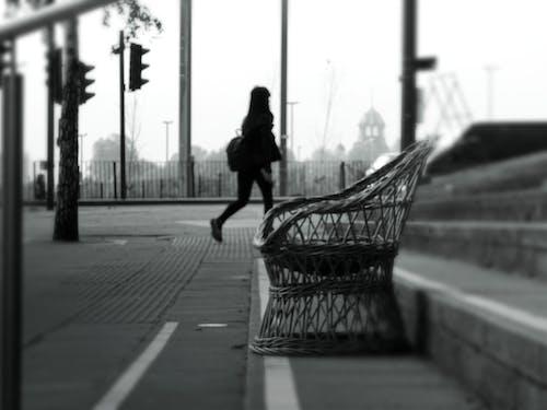 ぼかし, シティ, ライト, 人の無料の写真素材