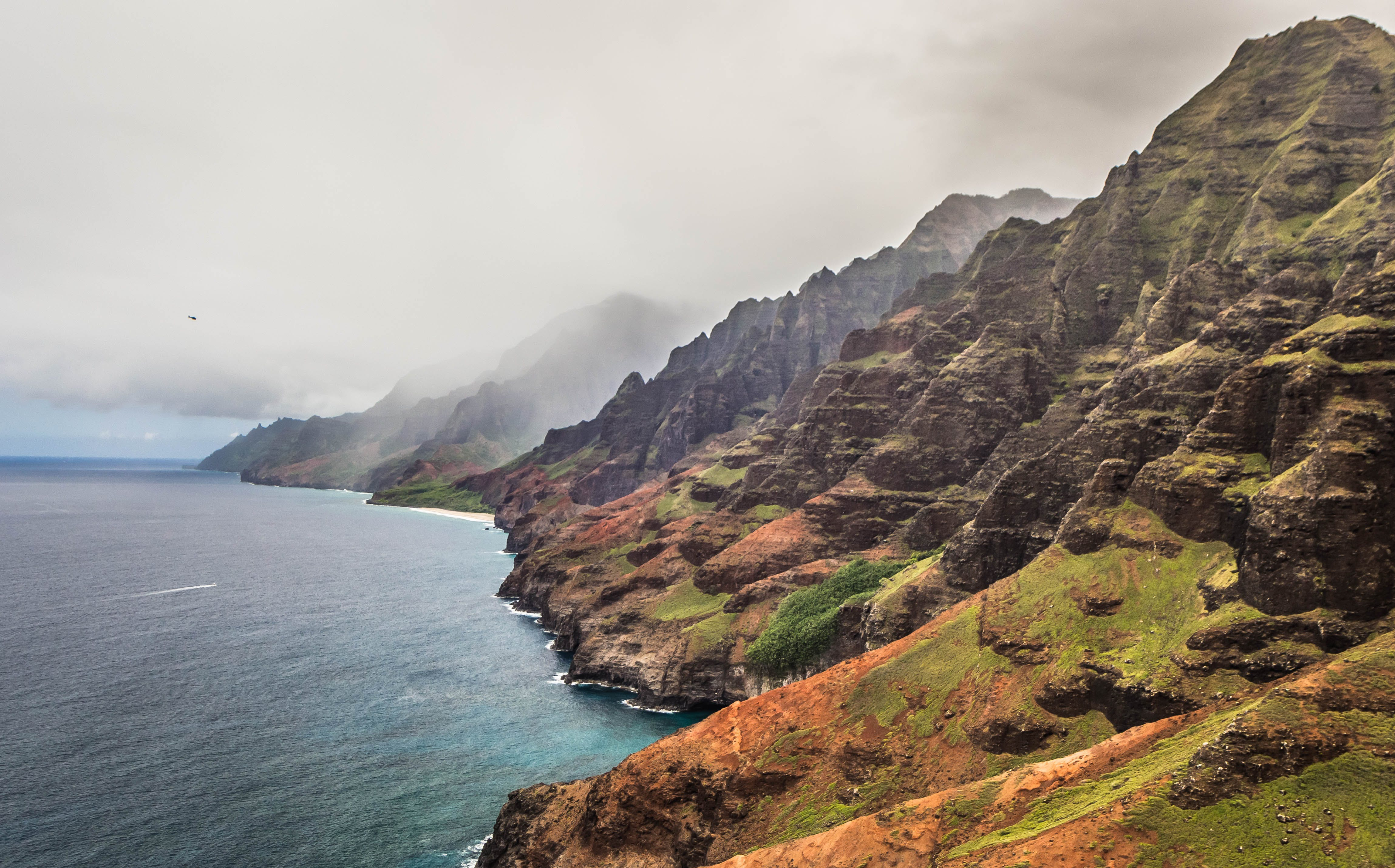 Free stock photo of cliff coast, hawaii, island, kauai
