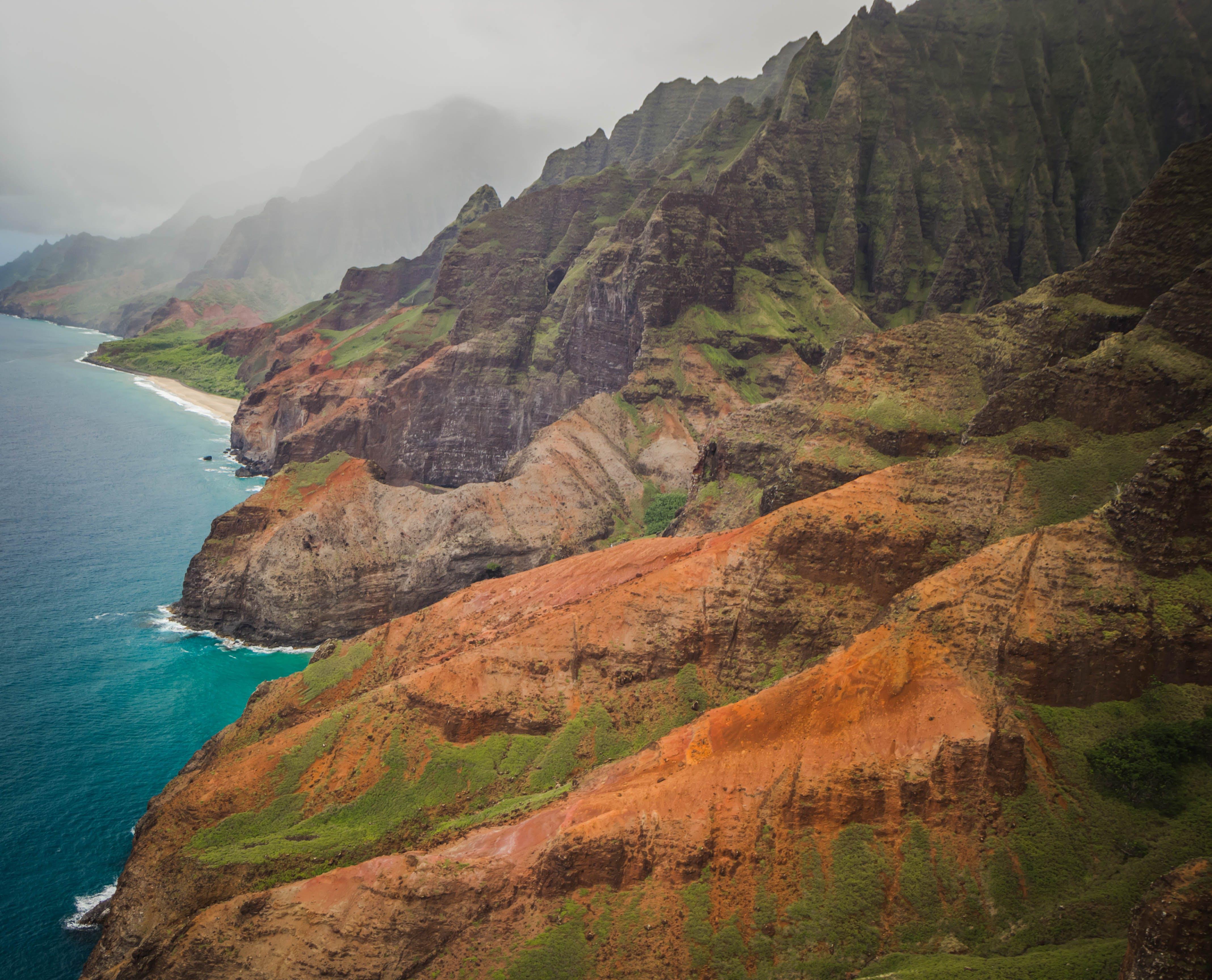 Free stock photo of hawaii, island, kauai, napali coast