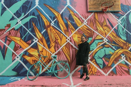 Photos gratuites de art, art mural, art urbain, basket-ball