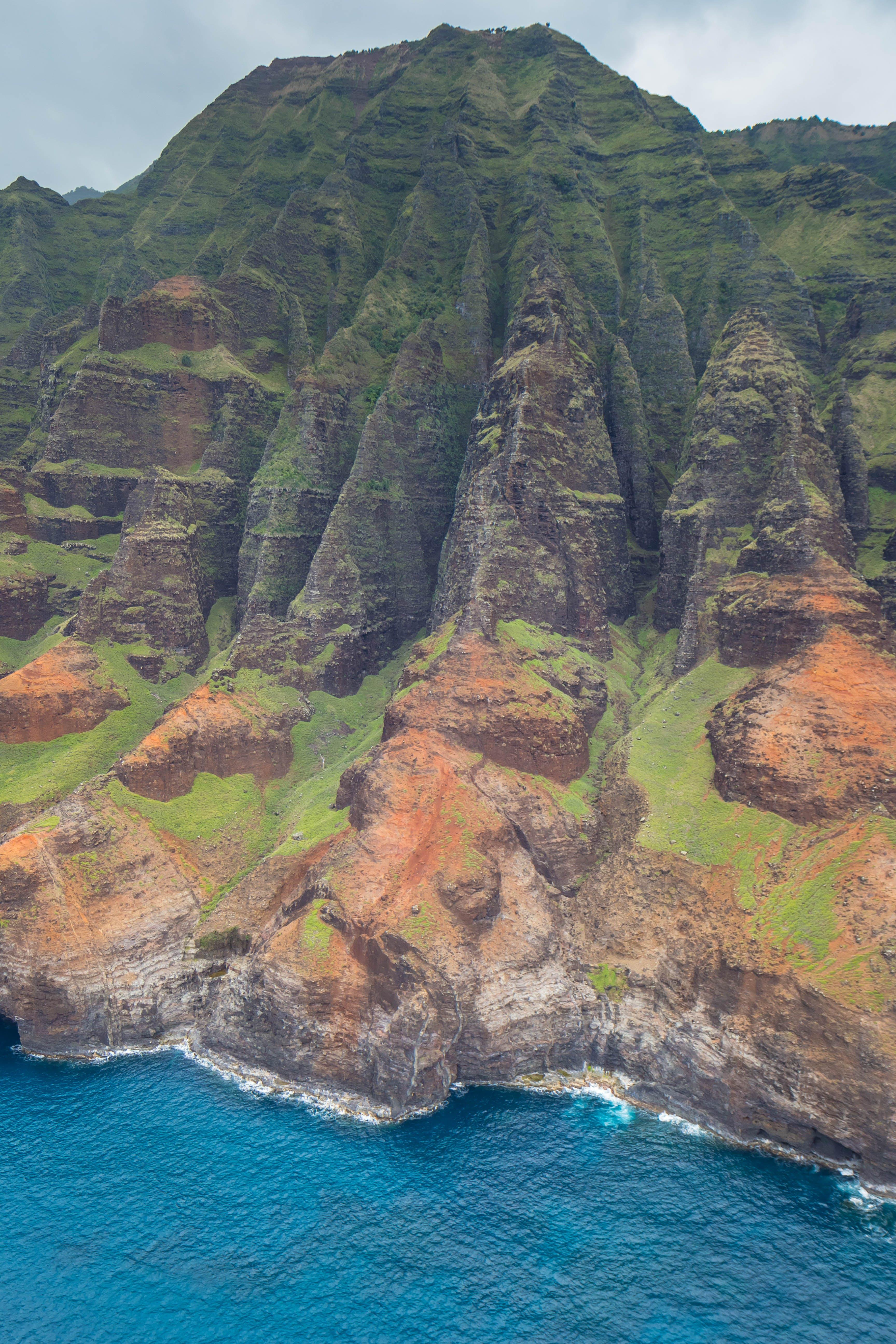 Free stock photo of cliff coast, hawaii, kauai