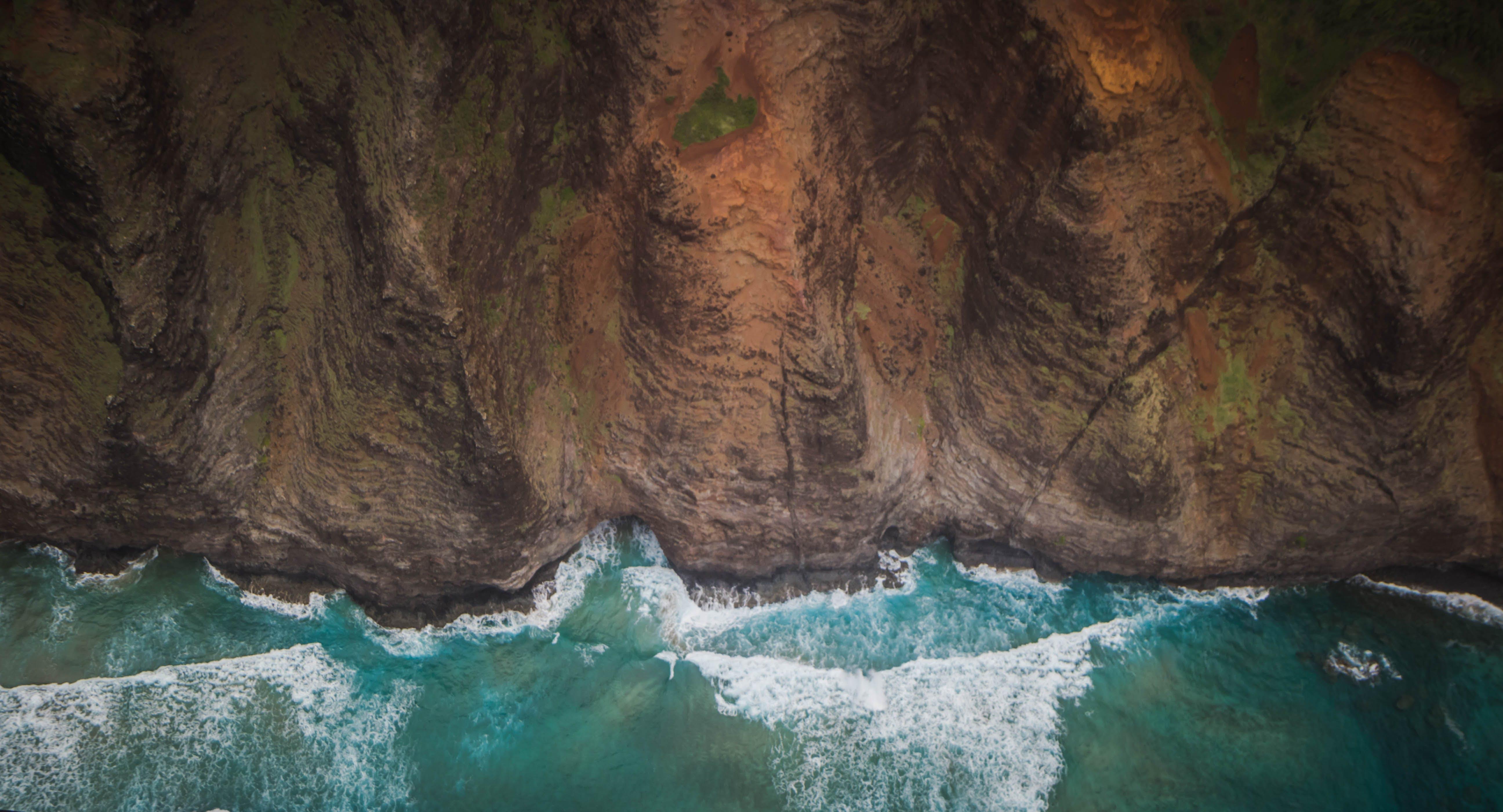 Free stock photo of coast, cliff coast, hawaii, kauai