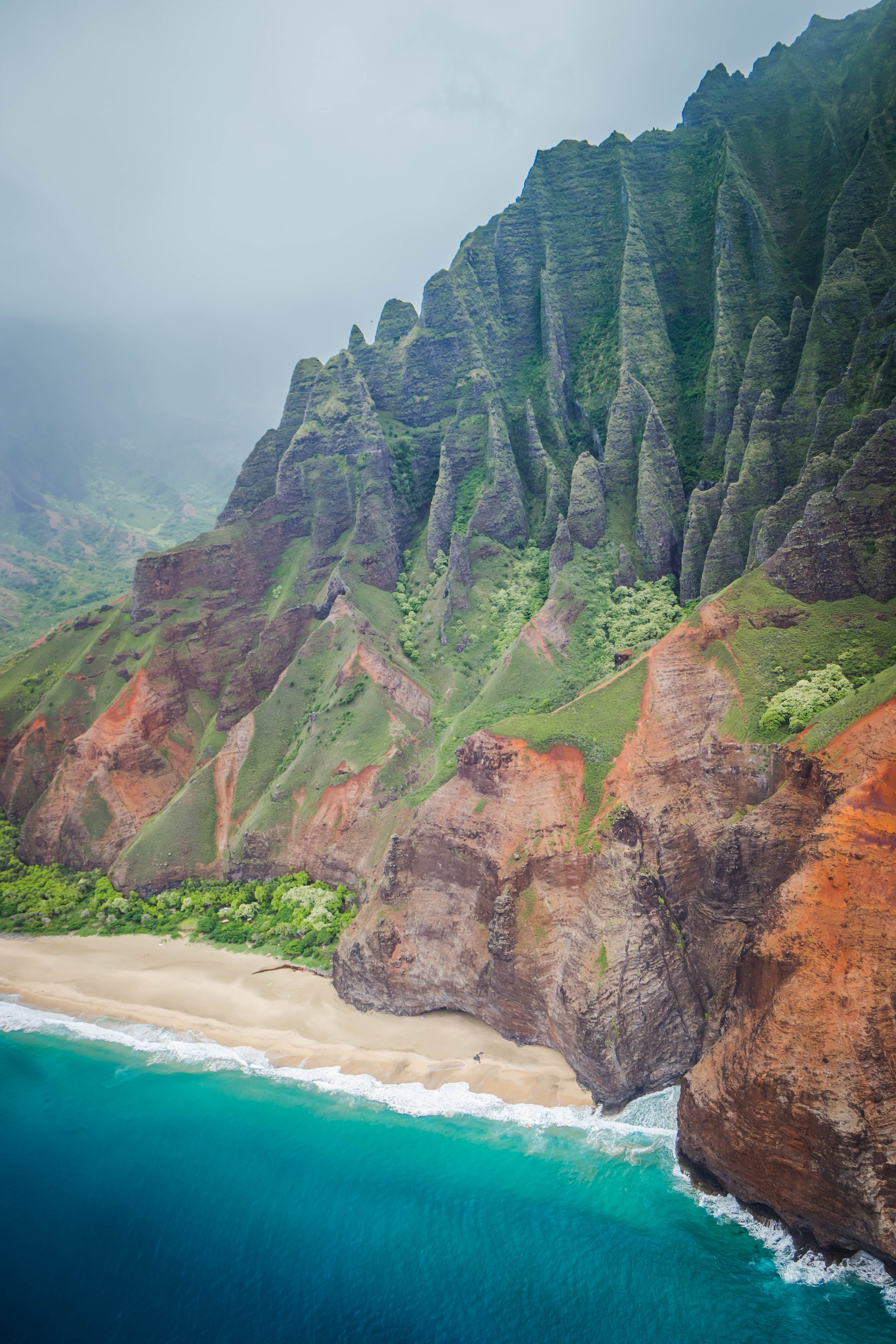Free stock photo of beach, hawaii, island, kauai
