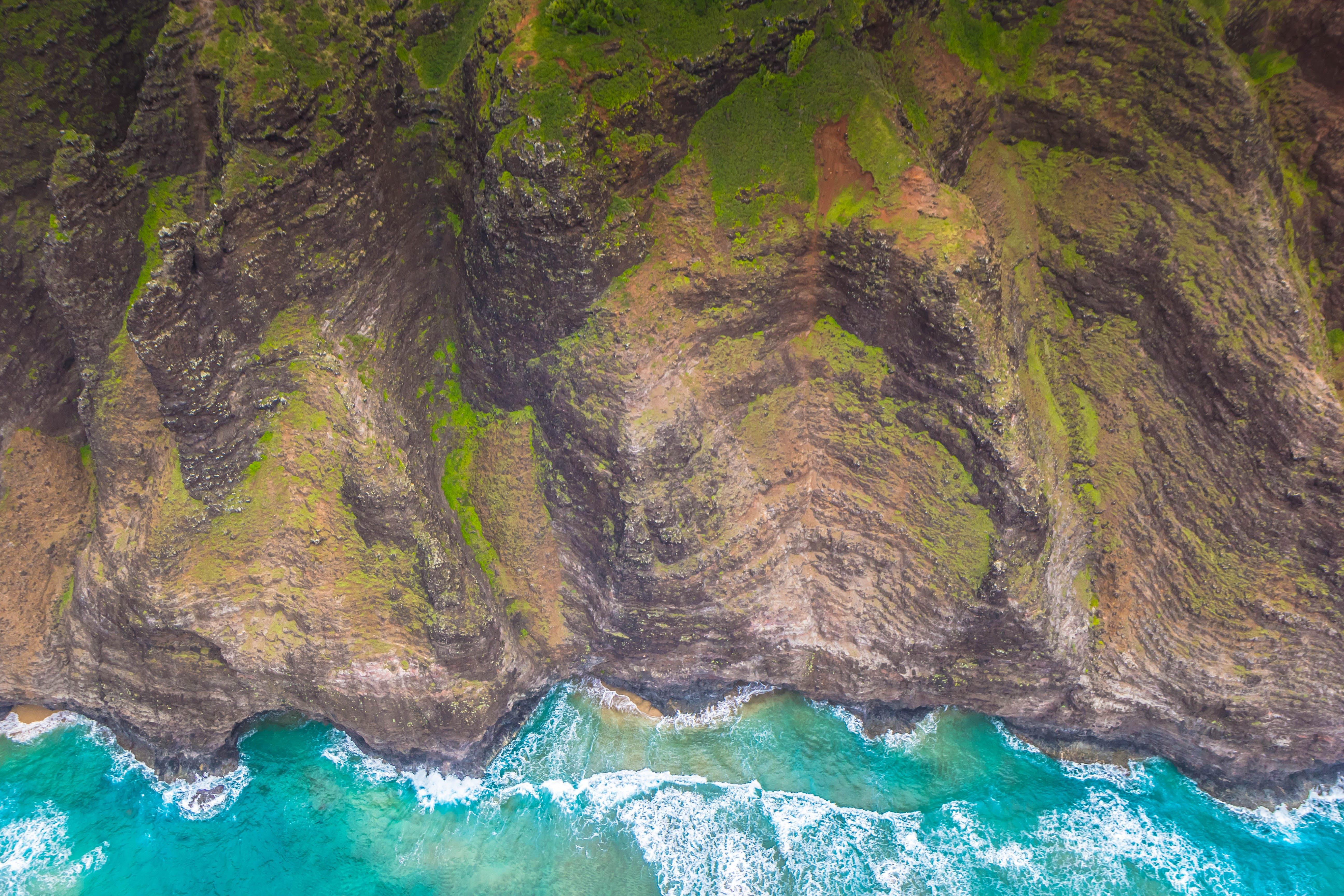 Free stock photo of island, cliff coast, hawaii, kauai