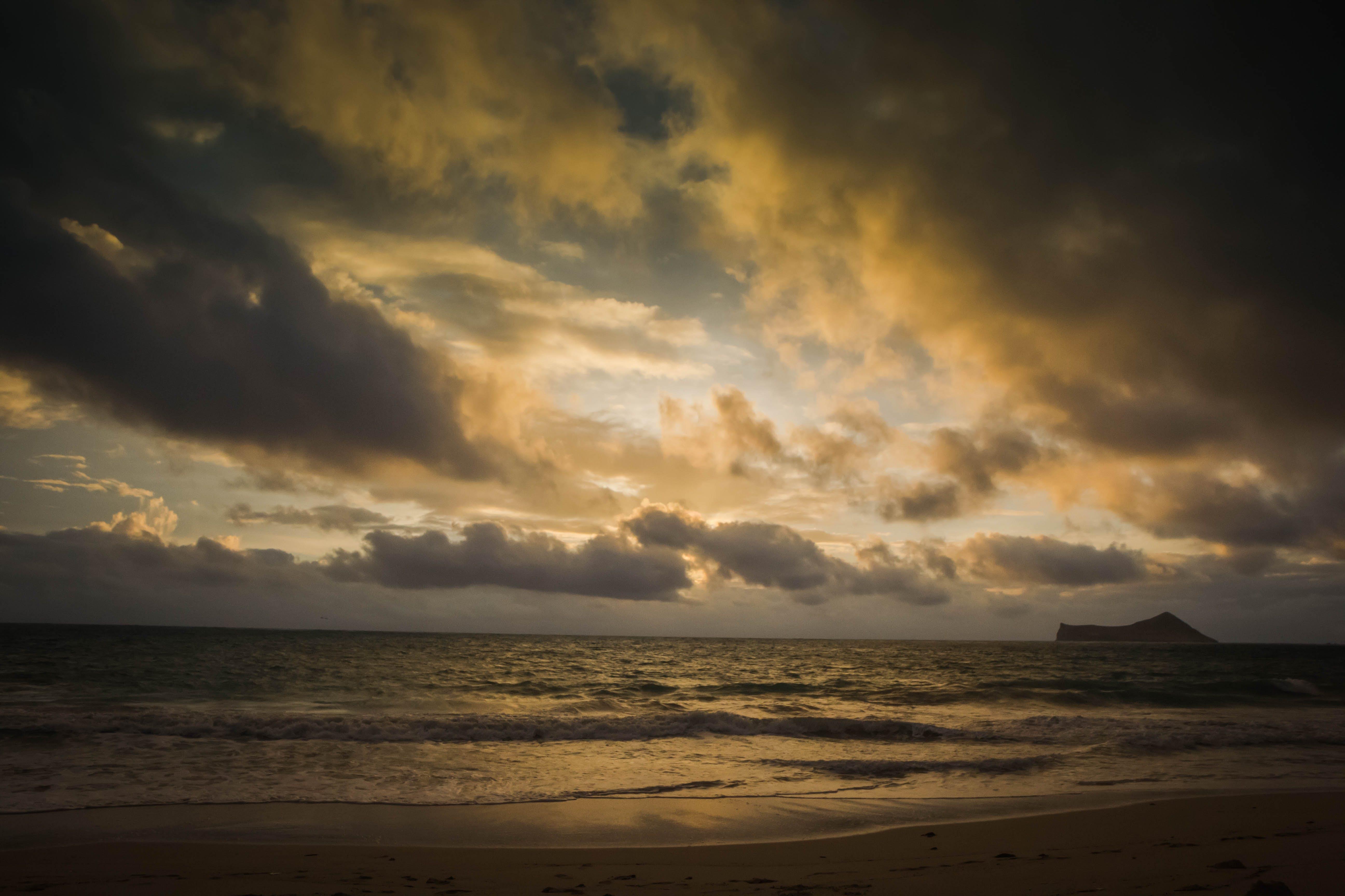 Free stock photo of sunset, beach, sunrise, island