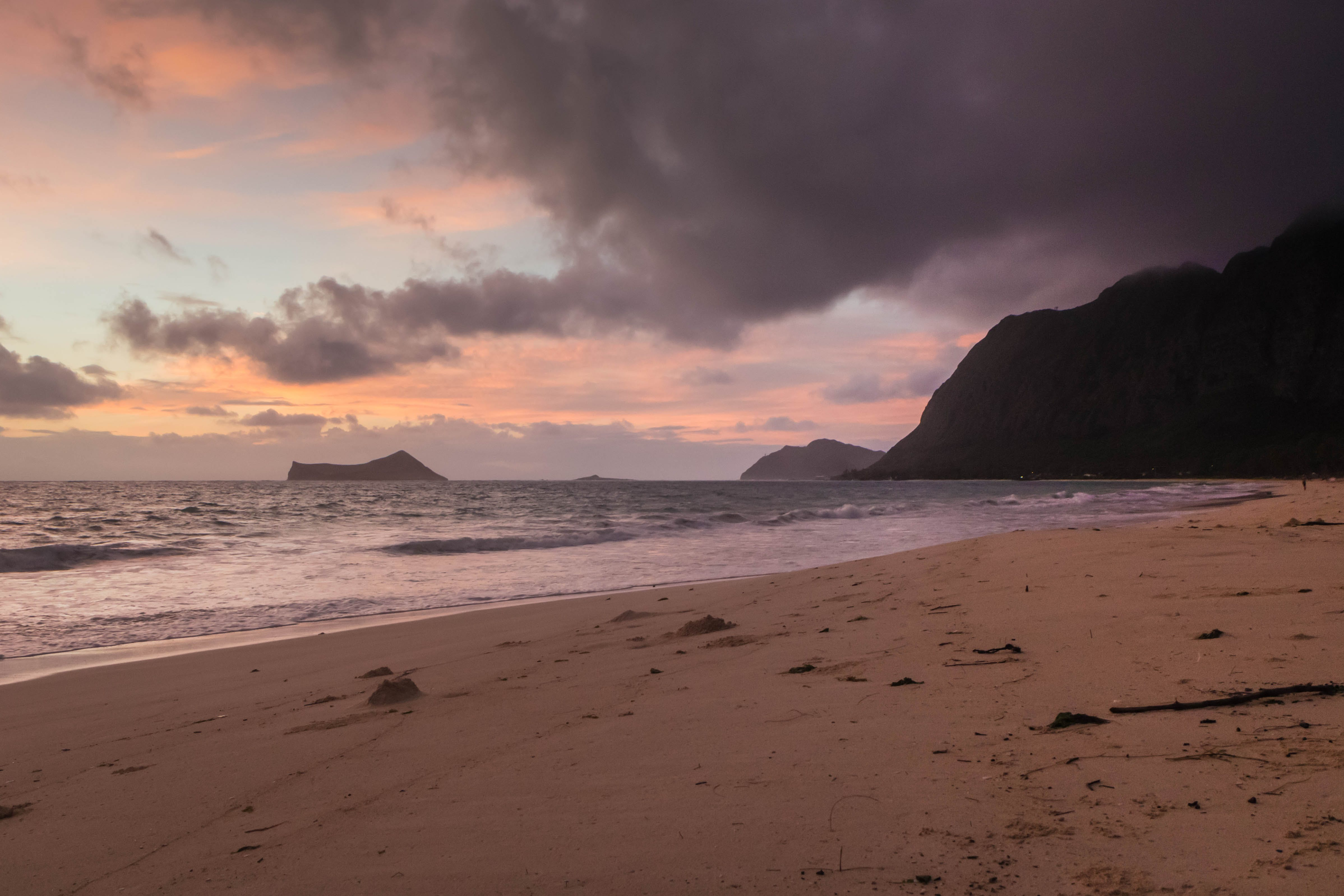 Free stock photo of beach, hawaii, island, sunrise