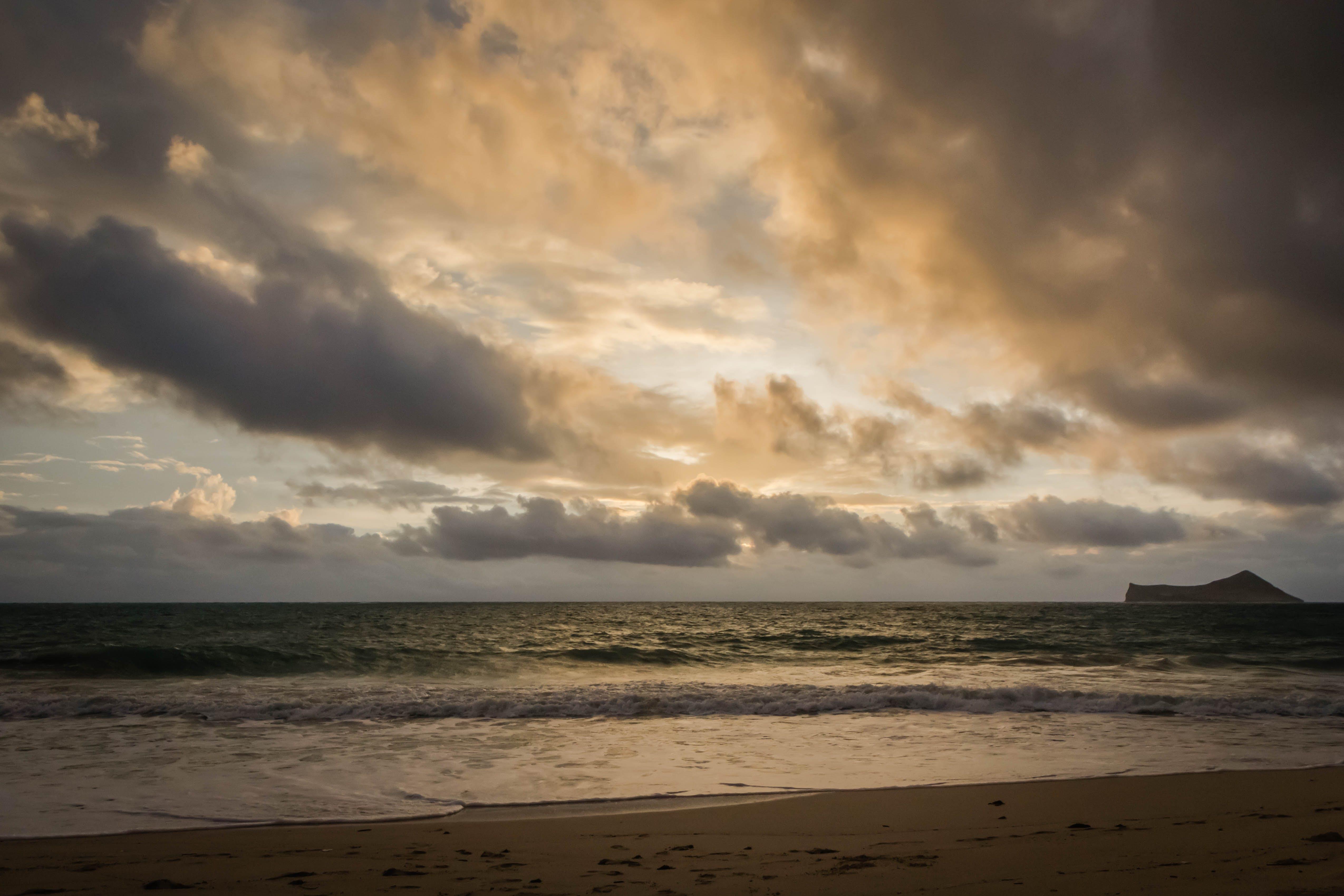 Free stock photo of beach, hawaii, island, sunrise