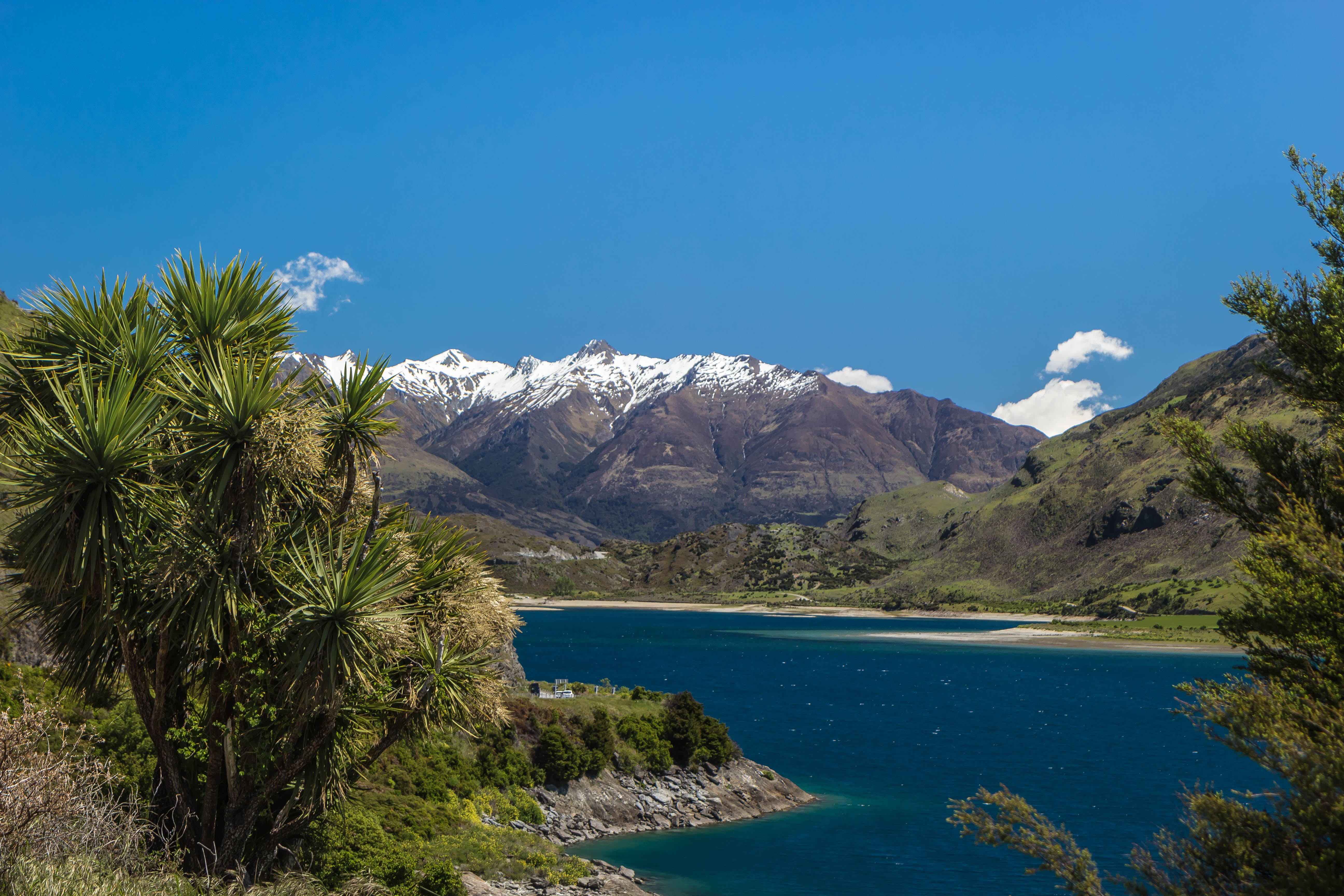 Free stock photo of lake, mountains, new zealand