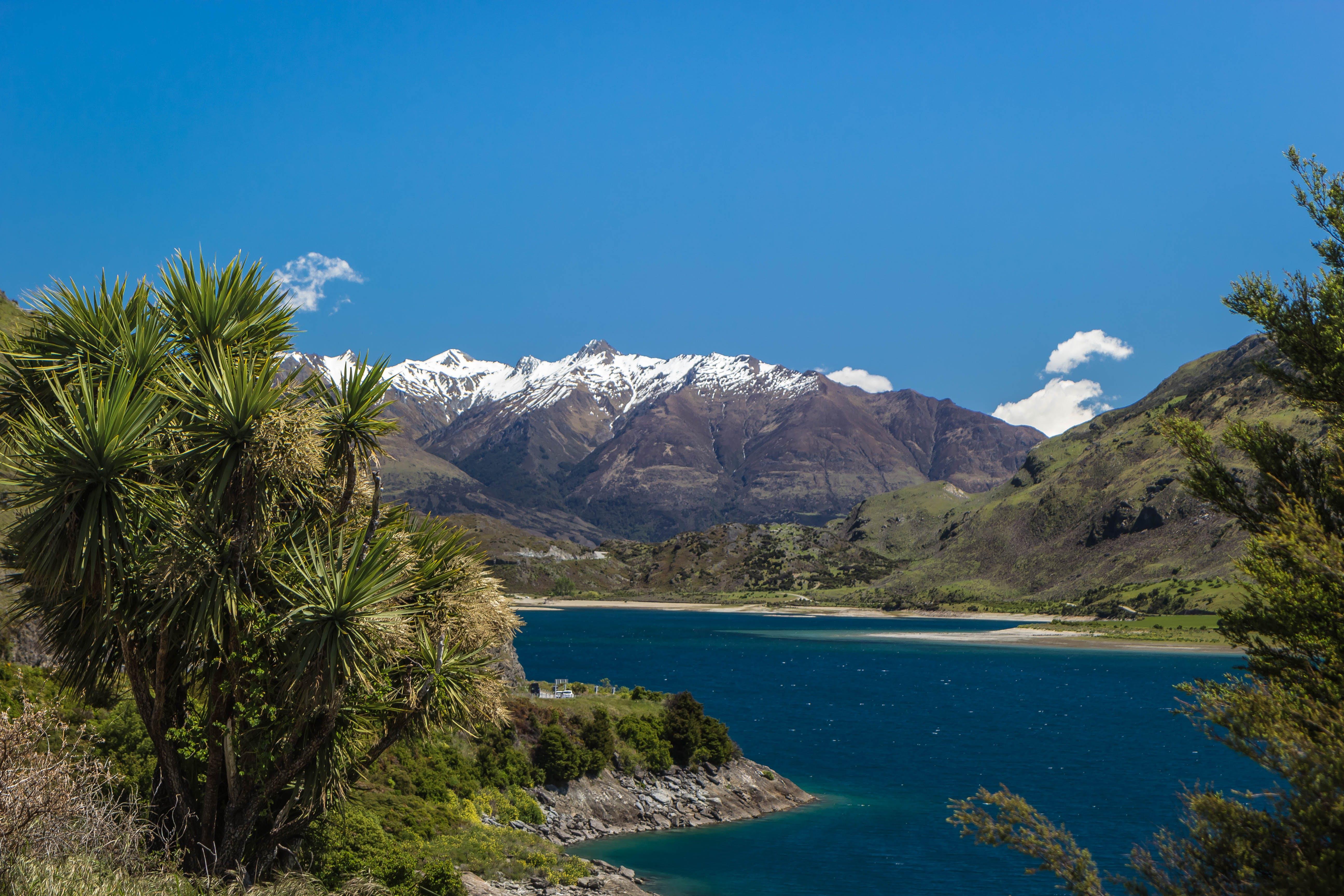 Kostenloses Stock Foto zu berge, see, neuseeland