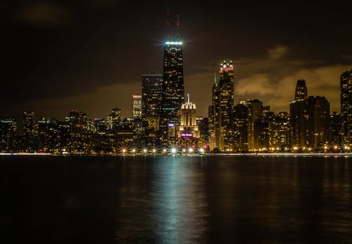 Free stock photo of chicago, cityscape, long exposure