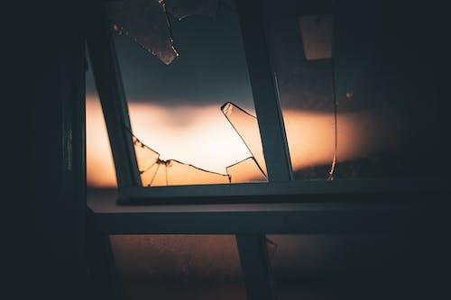 Free stock photo of broken, broken glass, dark, galss