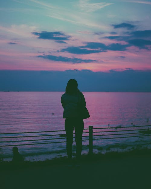 Free stock photo of alone, blue, blue color