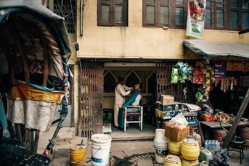 Foto stok gratis anonim, Arsitektur, bangku