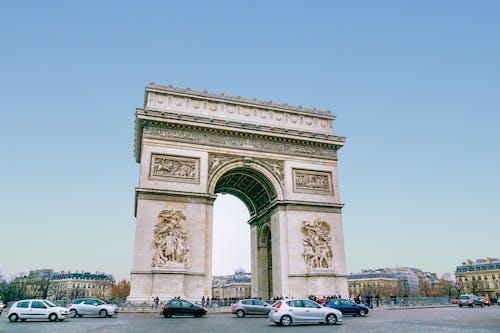 Foto stok gratis arc de triomphe, Arsitektur, kota, lengkungan