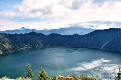 Volcanic Crater Lake