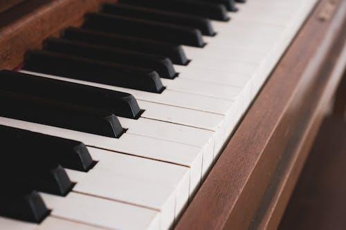 kuyruklu piyano, piyano, piyano tuşları içeren Ücretsiz stok fotoğraf
