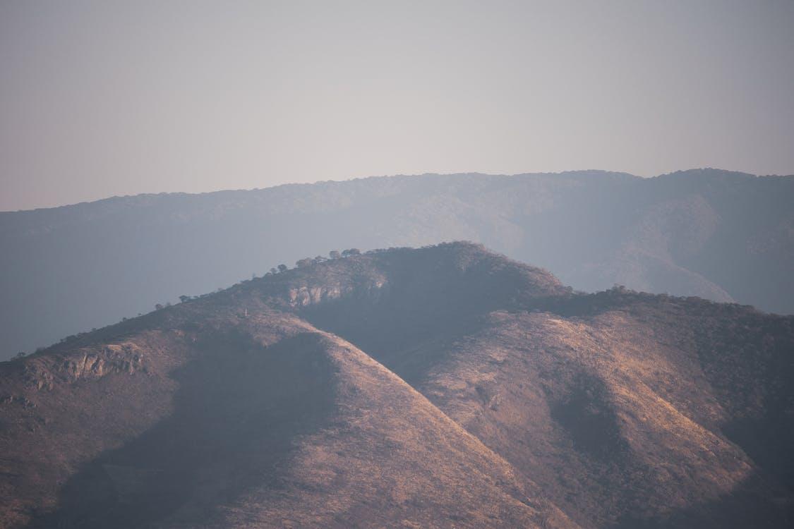 Free stock photo of aerial view, mountains