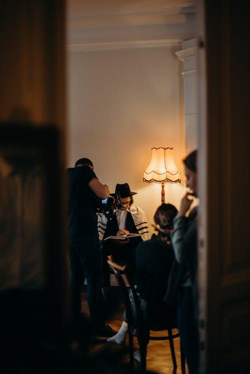Filming a Bar Mitzvah