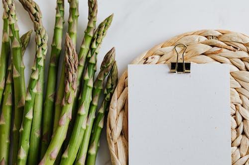 Foto stok gratis agrikultura, alami, asparagus, atas