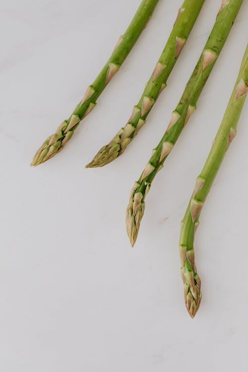 Four Stalks Of Asparagus