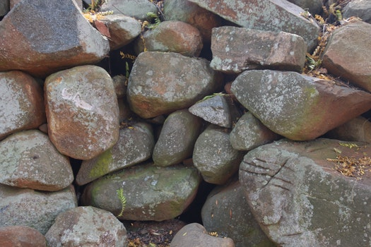 Free stock photo of rocks, texture, wall, outside