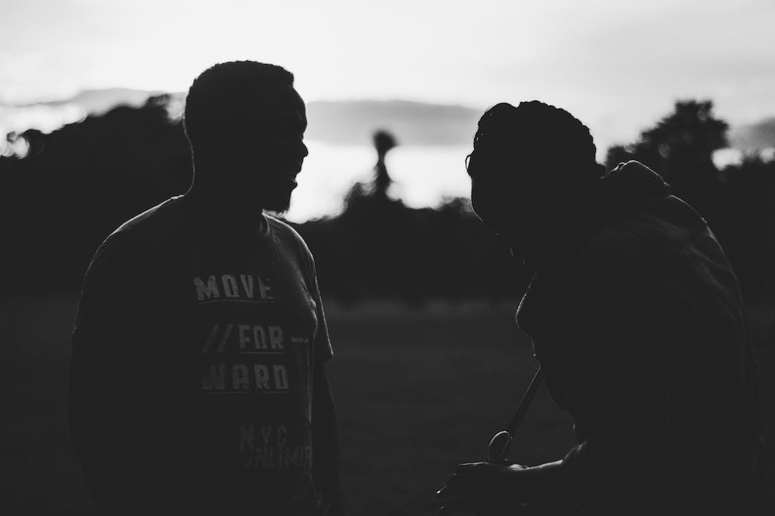 Free stock photo of black and white, Kenya, outside