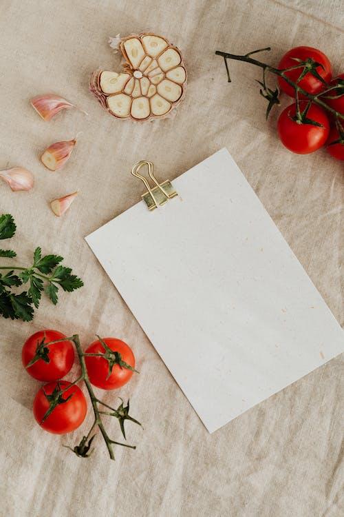Fotos de stock gratuitas de ajo, arreglo, blanco