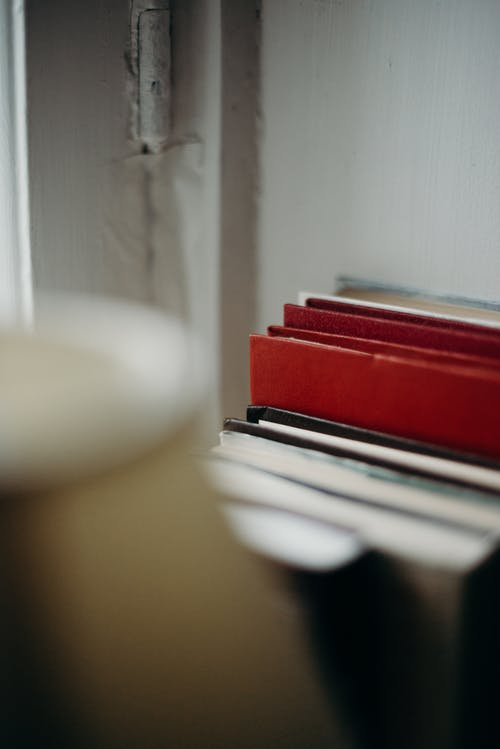 Free stock photo of blur, book bindings, book series, books
