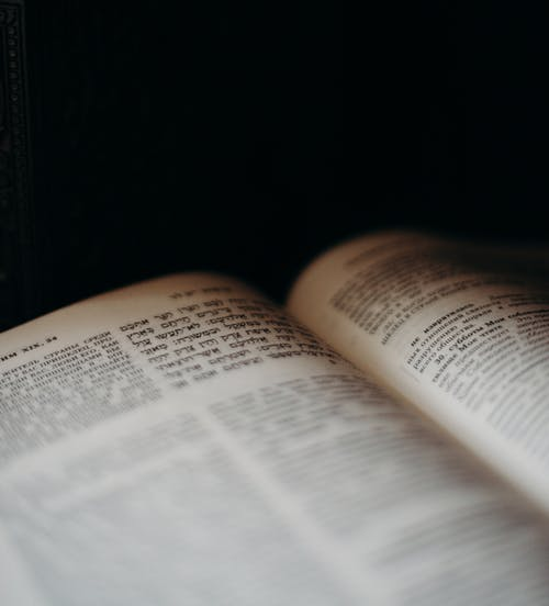 Close Up of a Book