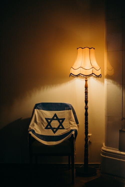 Immagine gratuita di bandiera, bandiera di israele, bandiera nazionale, lampada