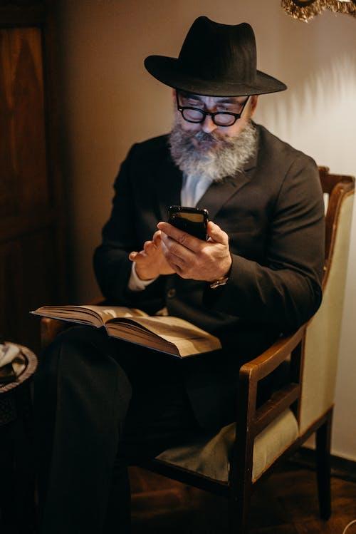 Darmowe zdjęcie z galerii z apple, broda, brodaty, brodaty mężczyzna