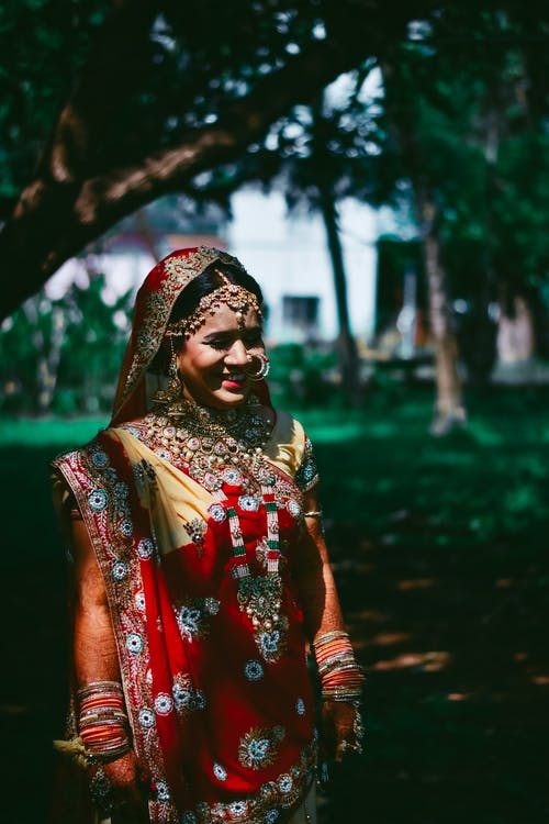 Photo Of Woman Wearing Sari Dress