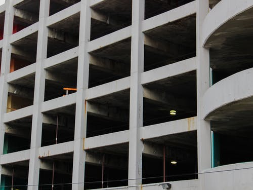 Free stock photo of abandoned building, dark, geometric pattern, geometrical