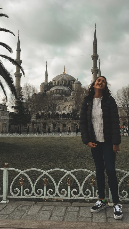 Free stock photo of blue mosque, cloudy, cold, estambul