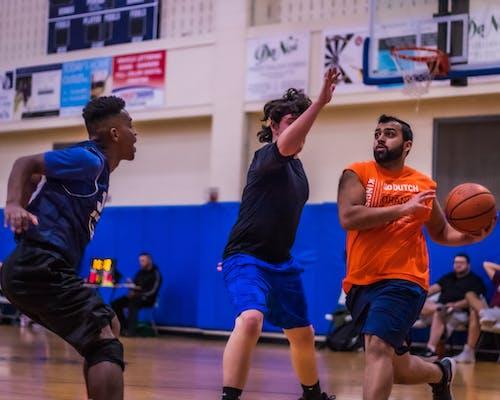 Free stock photo of action shots, athletes, basketball