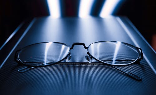 Close-Up Photo Of Eyeglasses