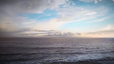 sunset, water, ocean