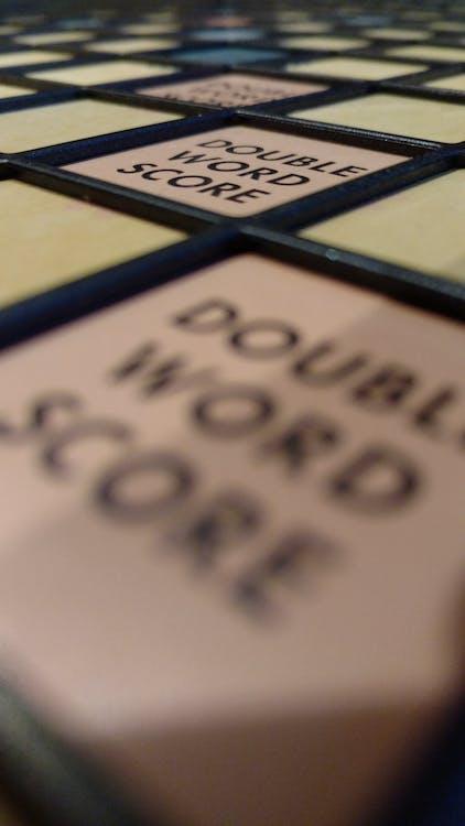 Kostnadsfri bild av alfapet, Brädspel, match