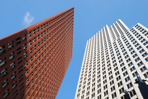 High Rise Building during Clear Blue Sky