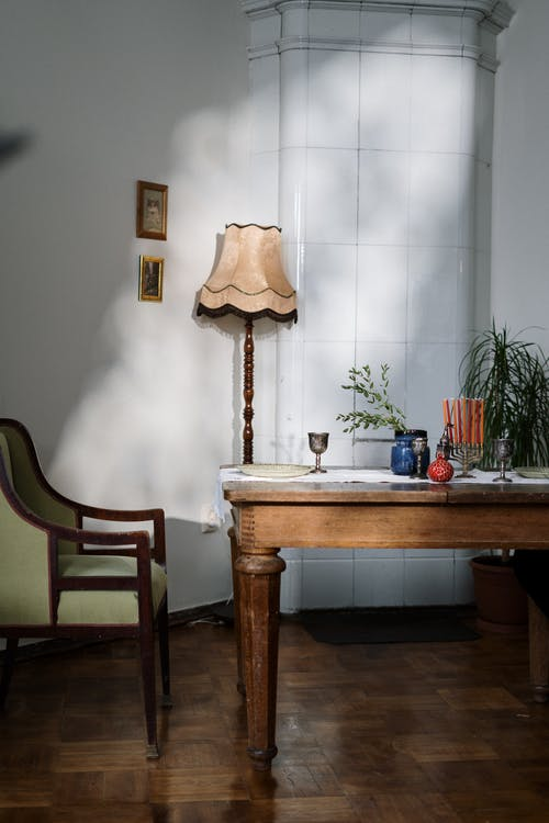 Room with Armchair and Table