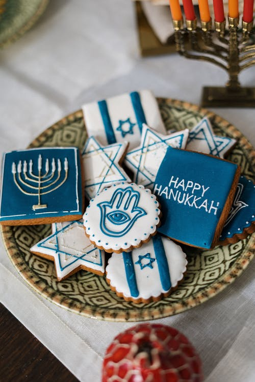 Cookies for Hanukkah