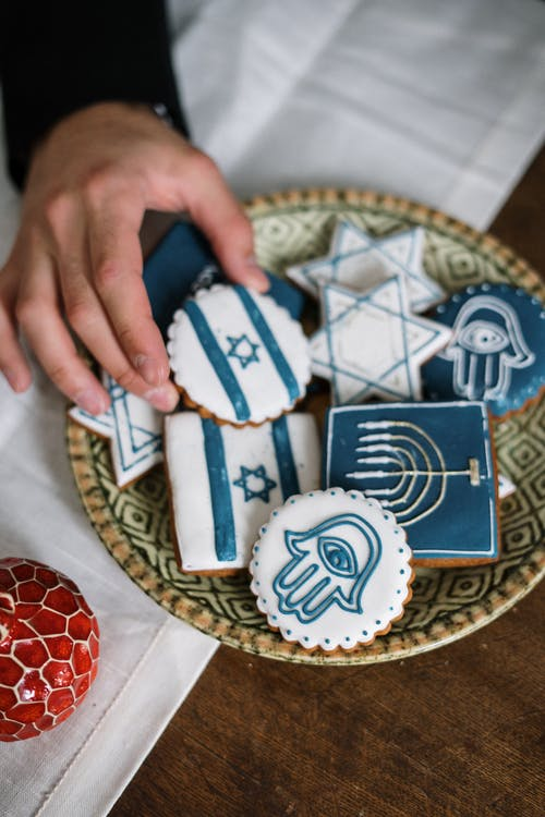 Jewish Themed Cookies