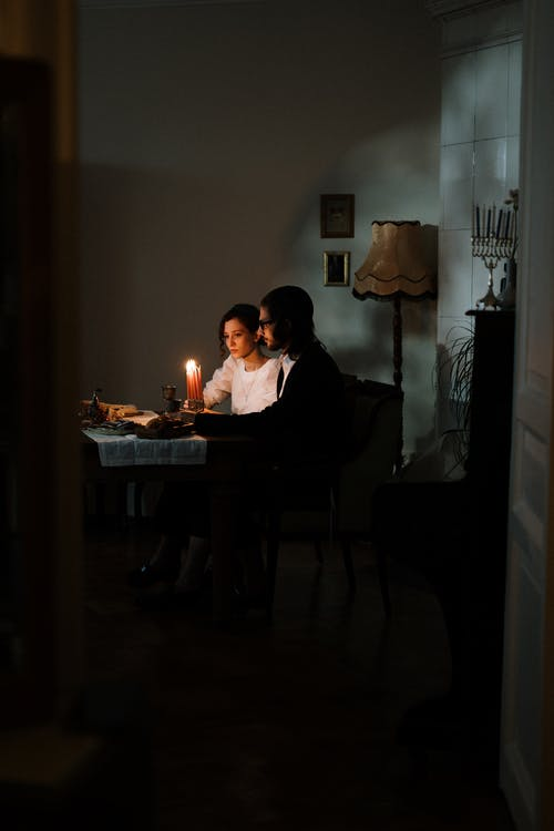 Free stock photo of appartment, at home, at table