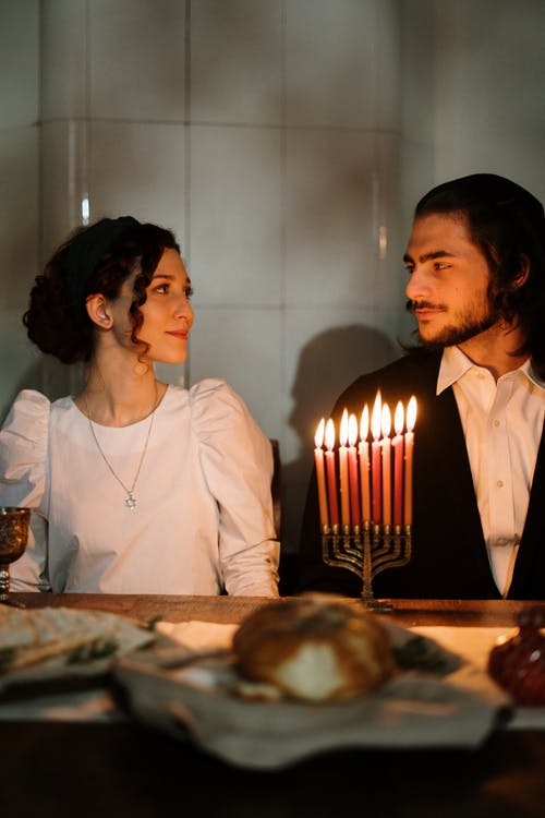Couple in Candlelight