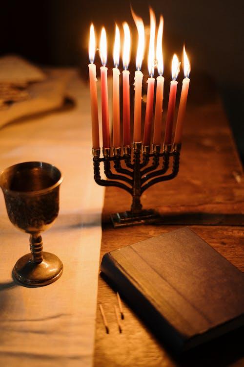 Fotos de stock gratuitas de hanukkiah, hebreo, jánuca, judaísmo