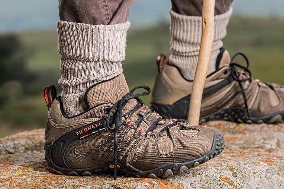 New free stock photo of wood, hiking, shoes